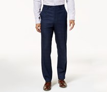 Alfani Mens Traveler Slim-Fit Stretch Pants, Navy