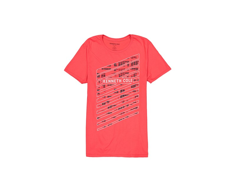 Men's City Slice Tee, Red