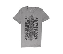 Kenneth Cole Men's Slank Graphic Tee, Charcoal Heather