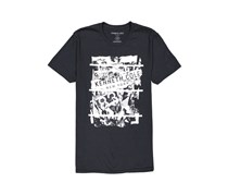 Kenneth Cole Men's  Distortion Graphic Tee, Black
