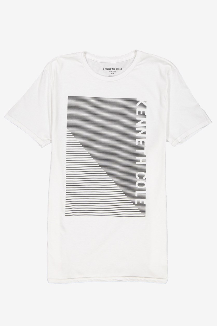 Men's  Optic Logo Graphic Tee, White
