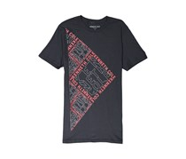 Kenneth Cole Men's Square Space Logo Graphic Tee, Black