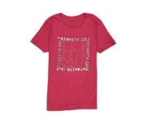 Kenneth Cole Men's Knockout Logo Graphic Tee, Cardinal
