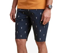 Barbour Mens Jellyfish Shorts, Navy