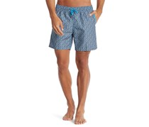 Mr. Swim Men's Cross Hatch Swim Shorts, Royal Blue