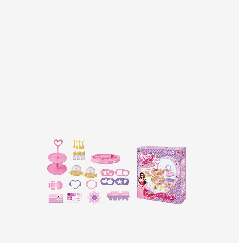 Fulla MiniCake Chef Accessories and Cutter Playset, Purple Combo