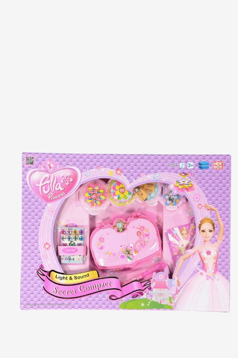 Fulla Princess Secret Compact, Pink