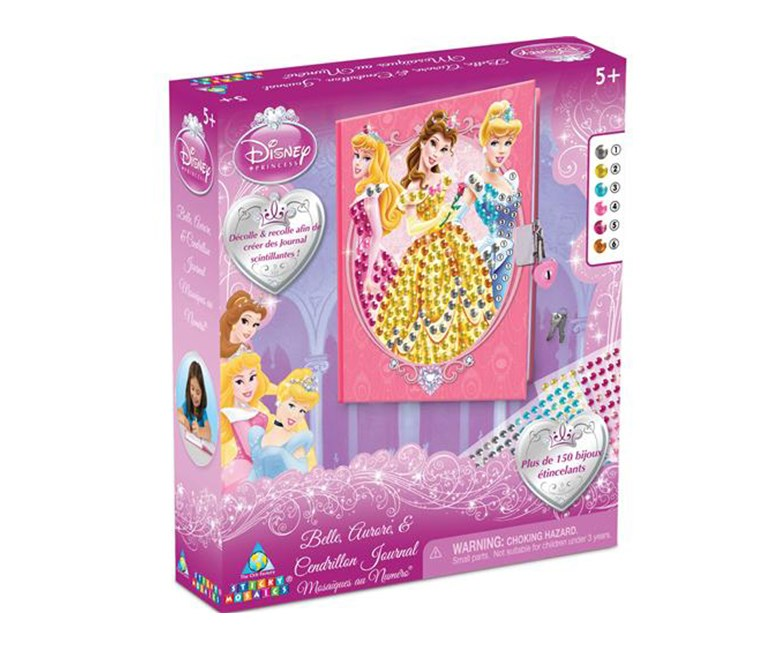 Princess Sticky Mosaics Princess Diary, Combo