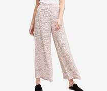 Free People Easy Peasy Wide-Leg Pants, Ivory