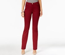 Lee Platinum Gwen Straight-Leg Jeans, Cinnamon