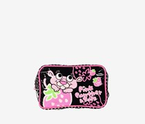 Pink Panther Pouch, Black/Pink