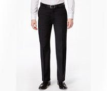 Ryan Seacrest Distinction Solid Modern Fit Pants, Black