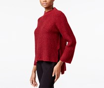 Rachel Roy Women's High-Low Sweater, Ruby