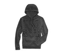 Ring of Fire Men's Ny Stars Graphic Hoodie, Charcoal