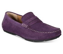 Alfani Men's Sal Suede Penny Drivers Shadow, Purple
