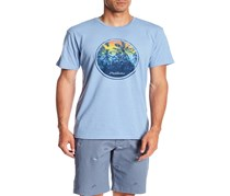 Flag & Anthem Men's Miami Tee, Light Blue