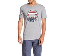 Flag & Anthem Short Sleeve Bear Graphic Tee, Atlhetic Heather