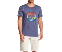 Flag & Anthem Short Sleeve Bear Graphic Tee, Navy Heather