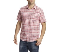Flag & Anthem Oakton Double Pocket Shirt, White/Red