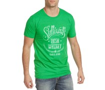 Flag & Anthem Mens Graphic T-Shirt, Green Heather