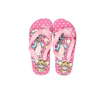 Little Girls Tom&Jerry Slip-on Flip-flops, Pink
