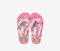 Girls Tom&Jerry Slip-on Flip-flops, Pink