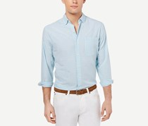 Tommy Bahama Mens Key Largo Shirt, Light Sky