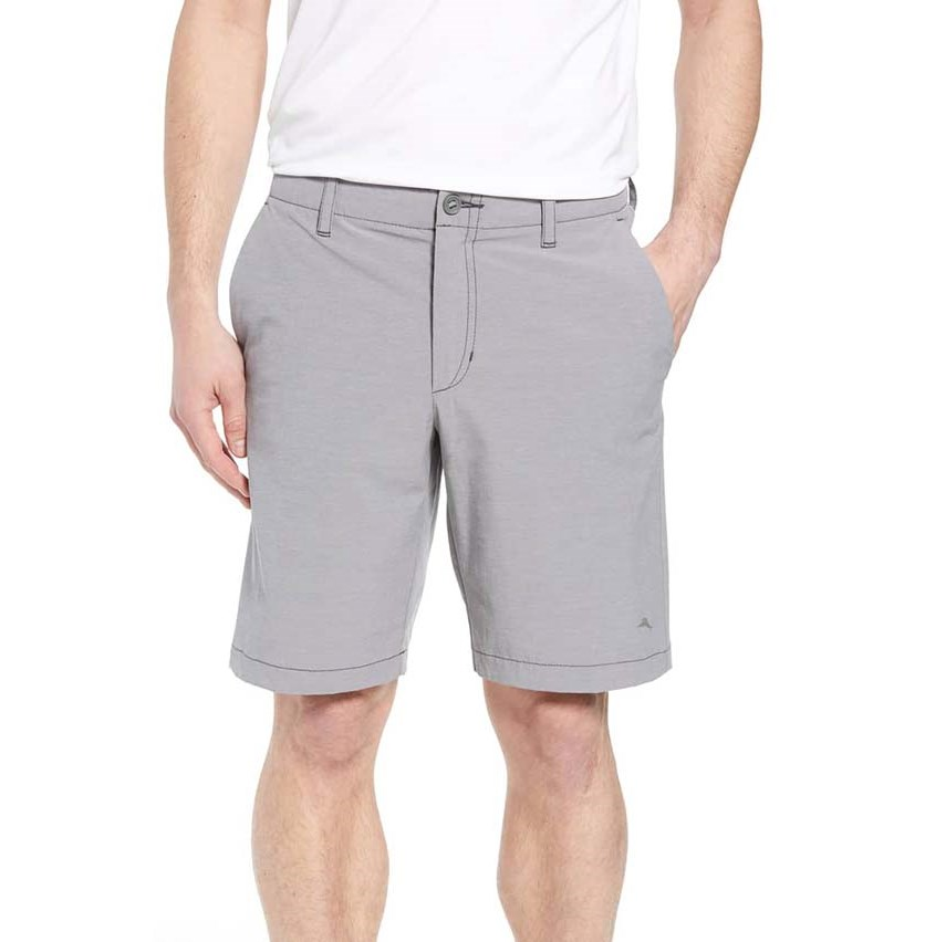 Mens Chip Run Shorts, Storm Gray