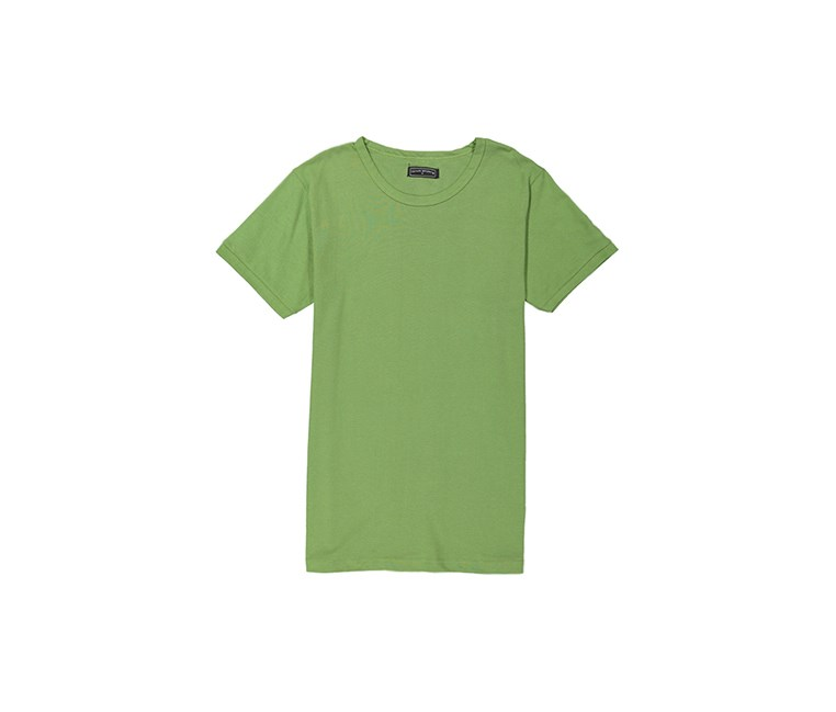 Tahari Sport Men's Plain Cotton Round Neck T-Shirt, Green