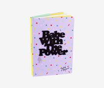Tatty Devine Babe With The Power A5 Notebook, Purple