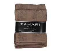 Tahari Hand And Bath Towel Set, Brown