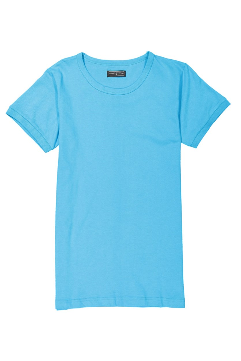 Boys' Plain T-Shirt, Blue