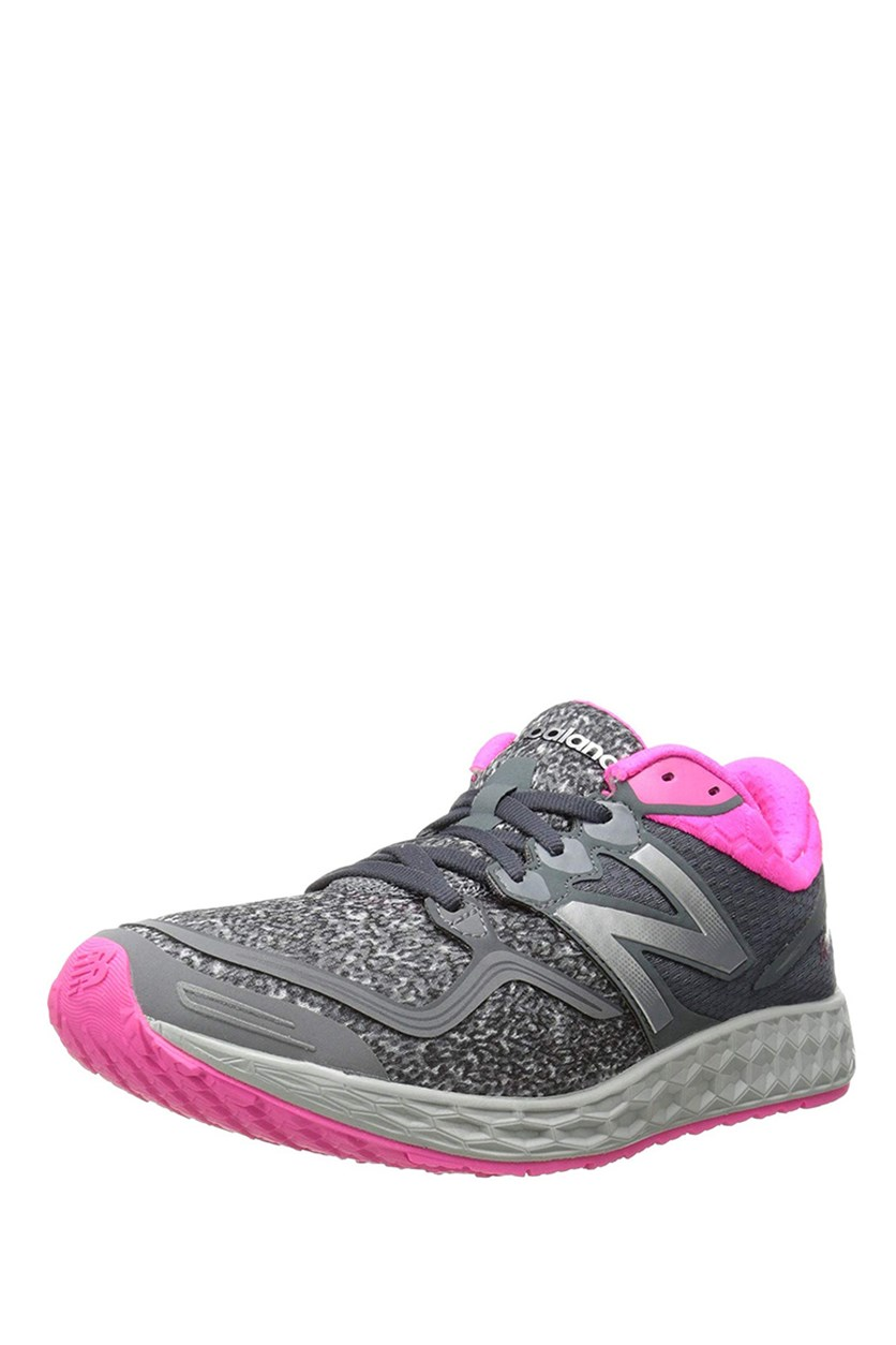 Women's Running Shoe, Grey/Pink