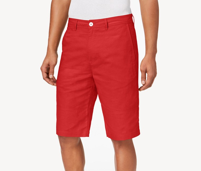 Mens Shorts, Fiery Red
