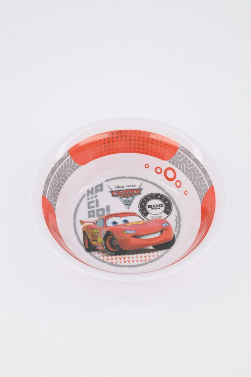 Cars 2 Wheels Coupe Bowl, White/Red