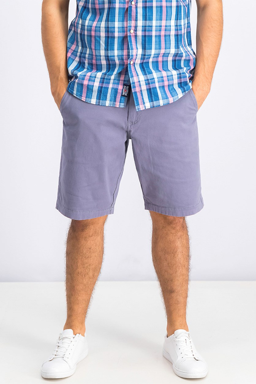 Men's Memphis Stretch Shorts, Grey