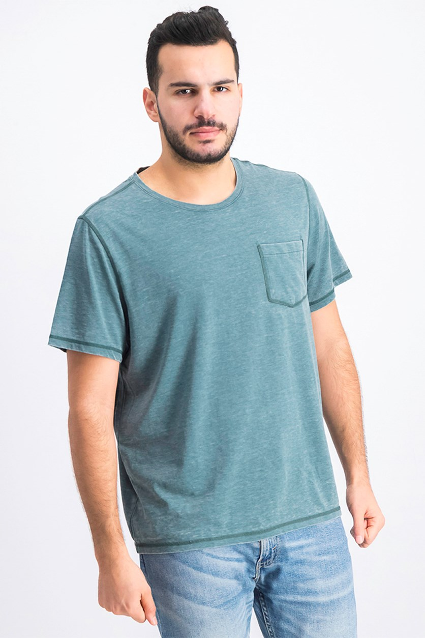 Men's Northfield Burnout Tee Shirt, Green