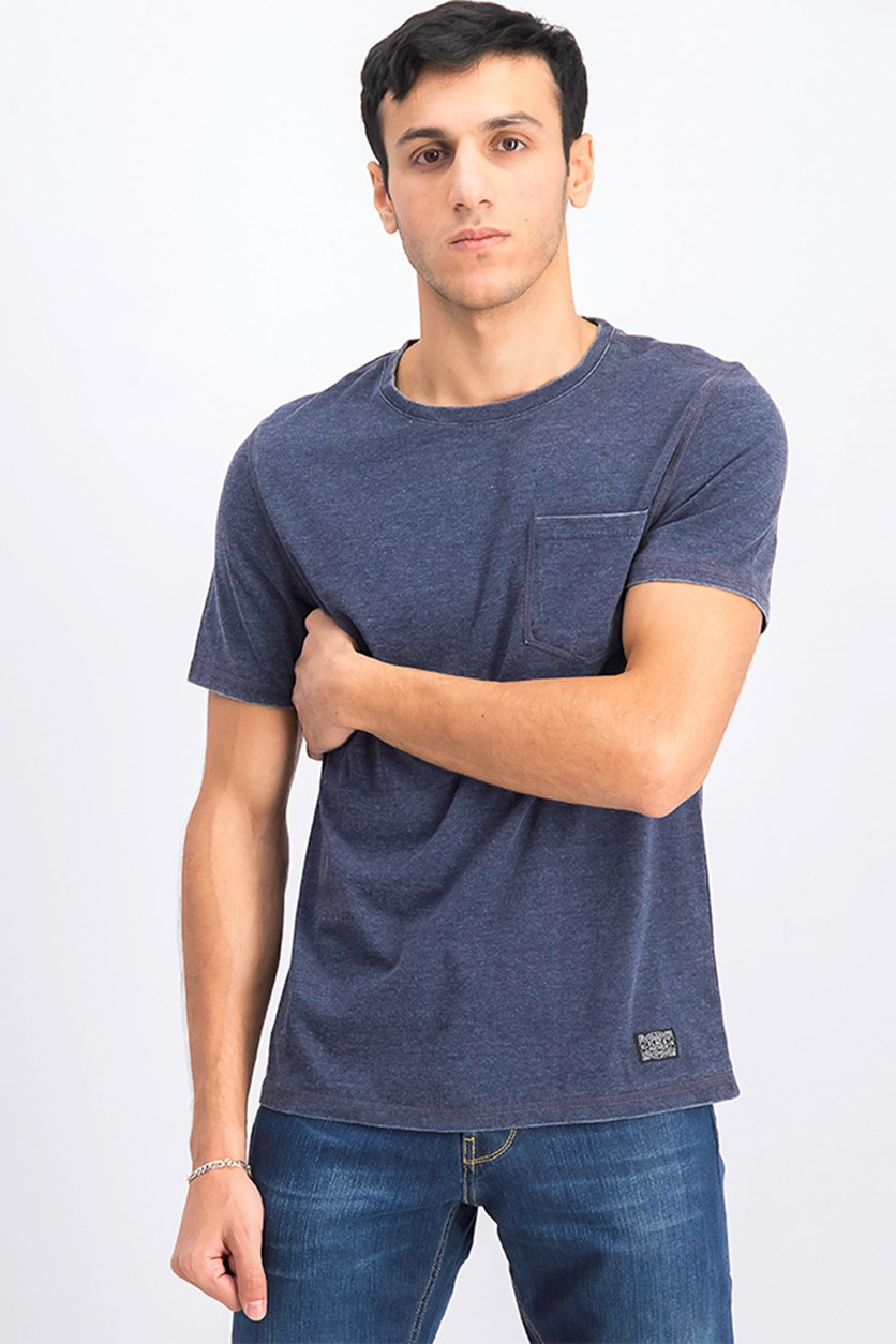 Men's Northfield Burnout Tee Shirt, Dark Gray