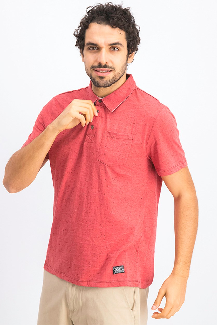 Men's Morristown Polo, Brick