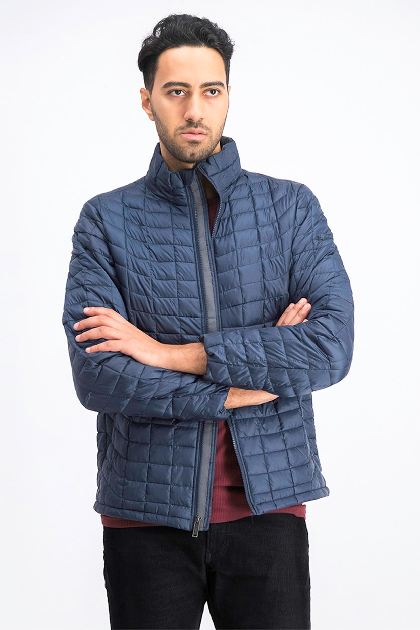 Men's Quilted Lightweight Puffer Jacket, Navy