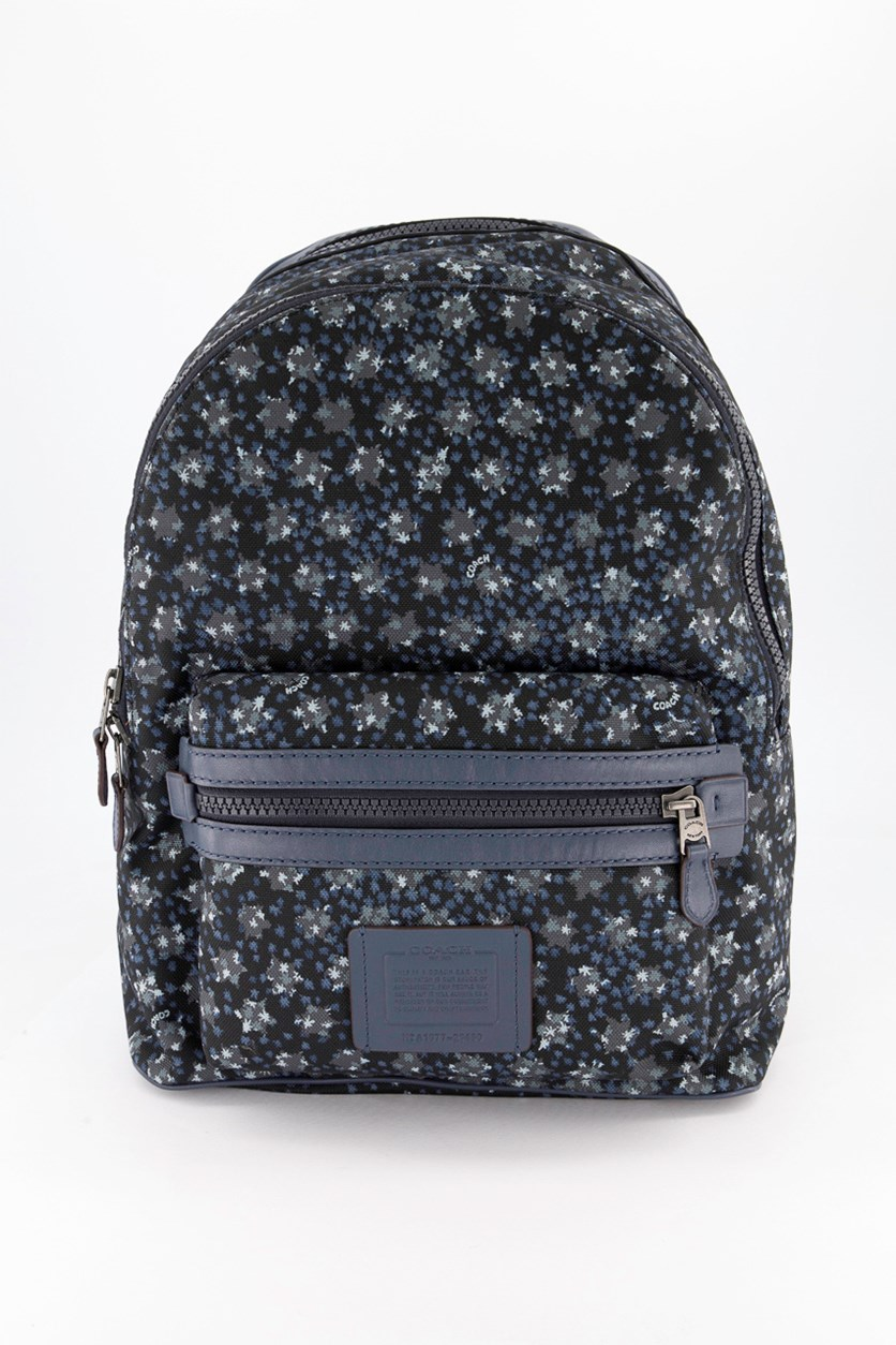Unisex Academy Backpack With Ombre Star Cordura Bag, Black/Navy