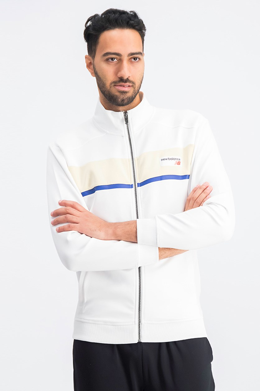 Men's Athletics Track Jacket, White