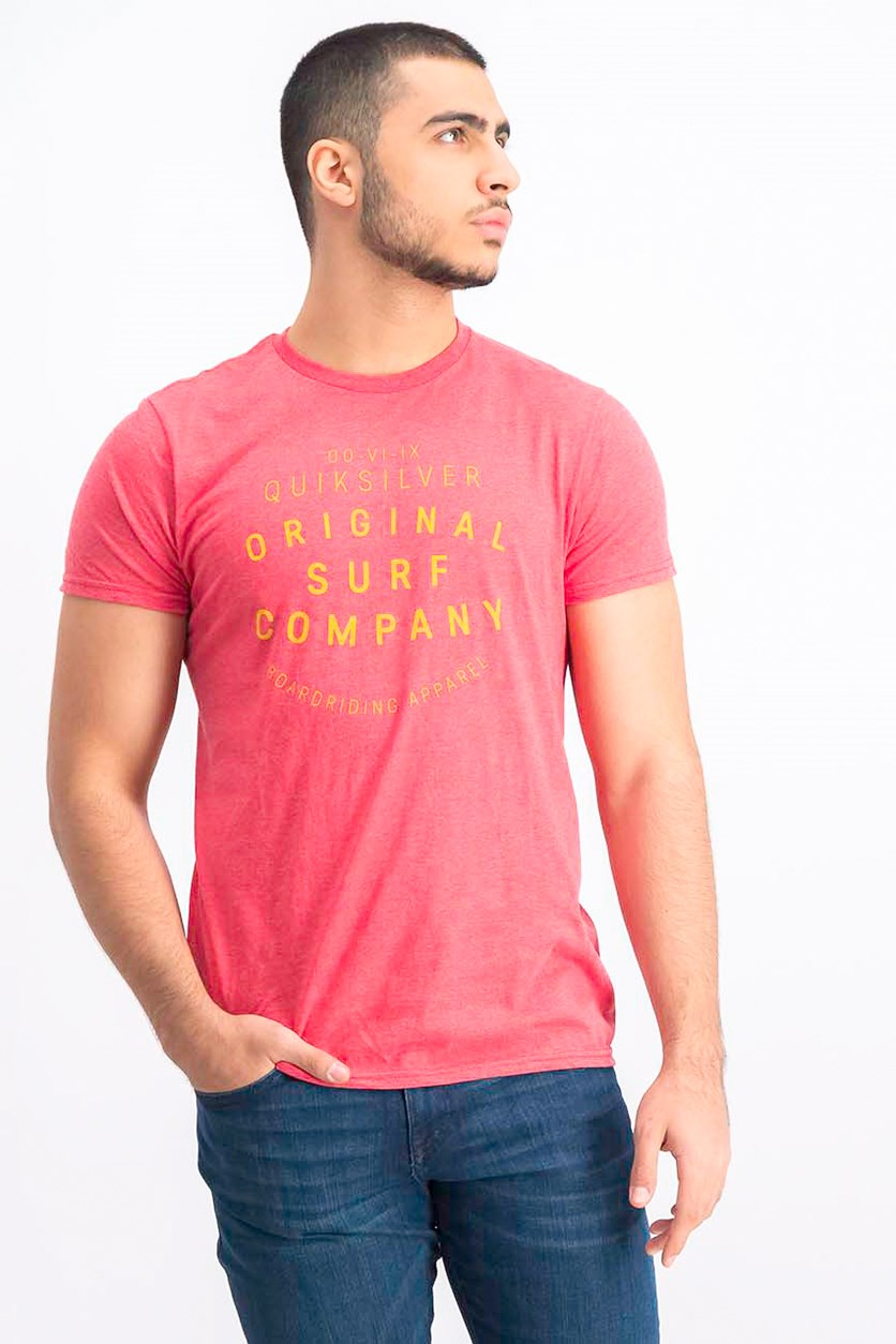 Men's Premium Fit After Beach T-Shirt, Red
