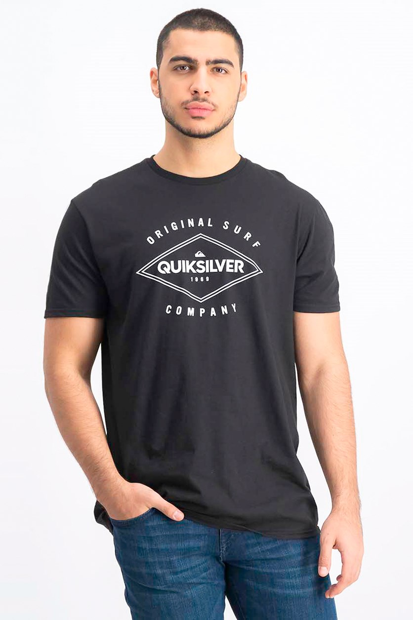 Men's Premium Fit New Diamond T-Shirt, Black