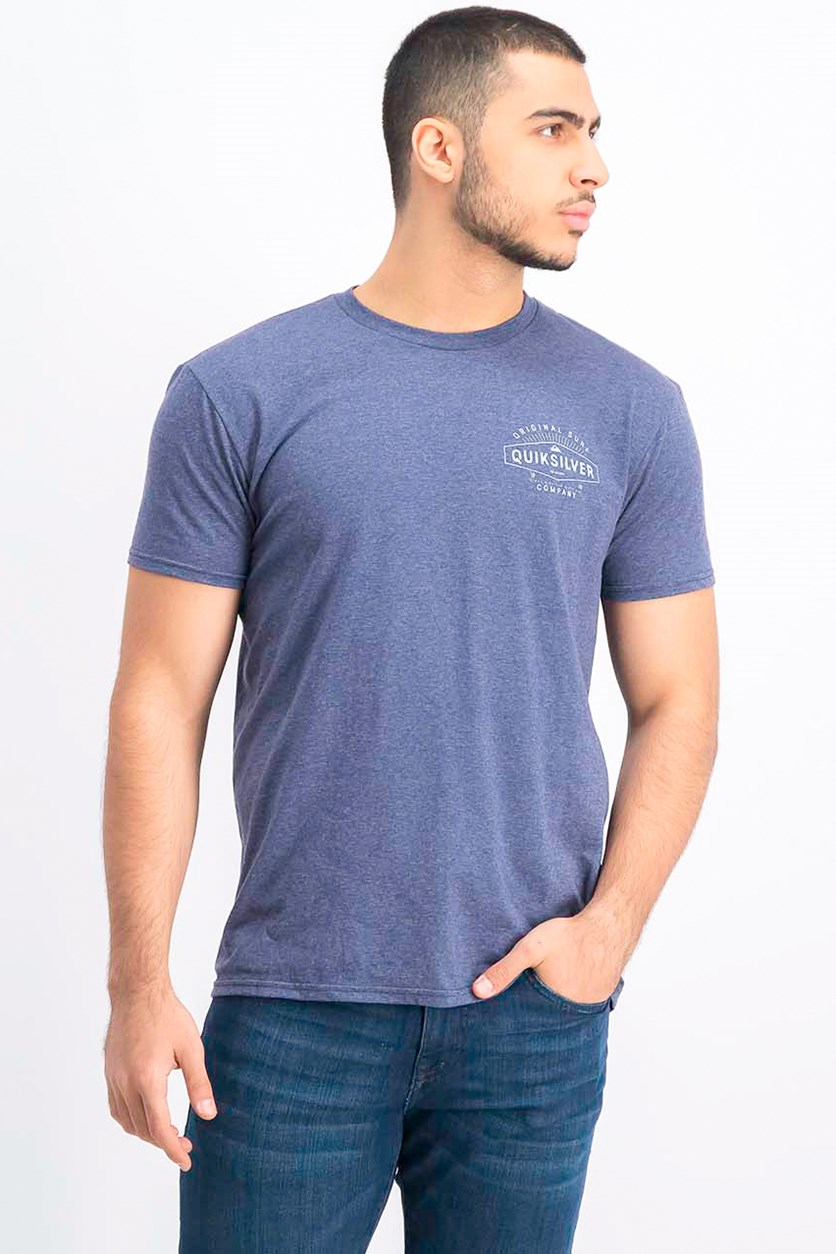 Men's Premium Fit T-Shirt, Heather Navy