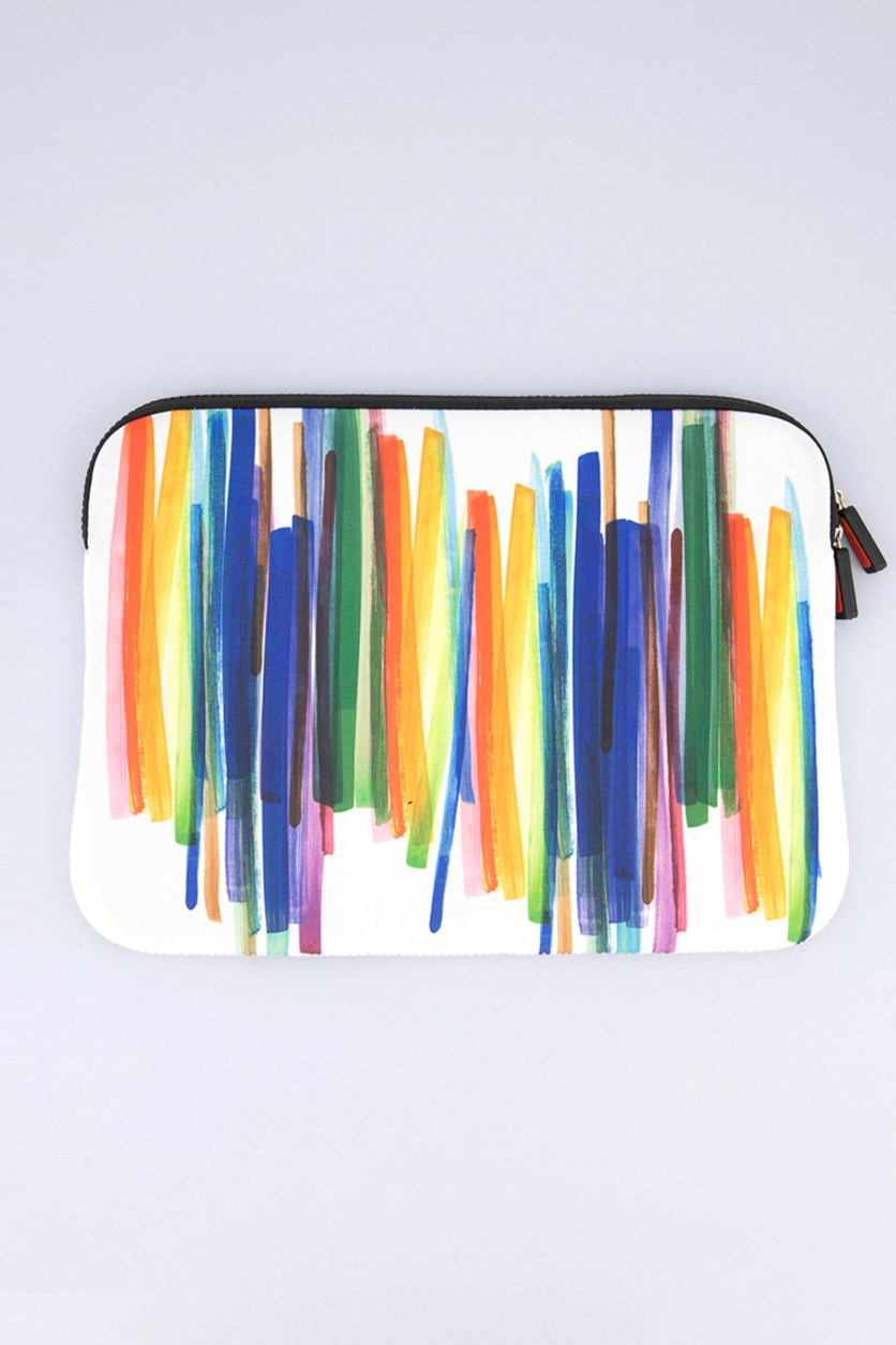 Laptop Sleeve Paint 11 inch, Blue/Orange Combo