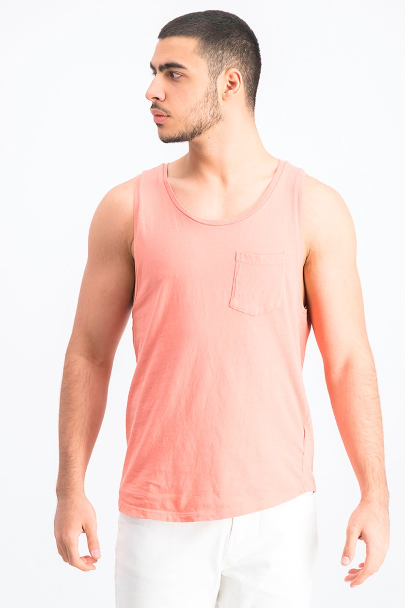 Men's Tank Top Fit, Coral