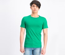 Men's Slim Fit Plain T-Shirt, Green