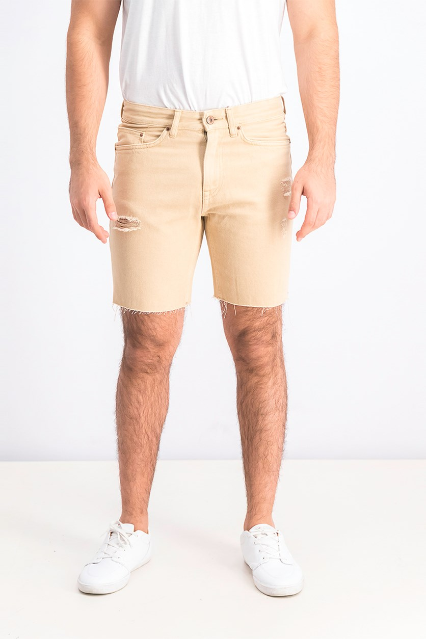 Men's Slim Fit Short, Tan