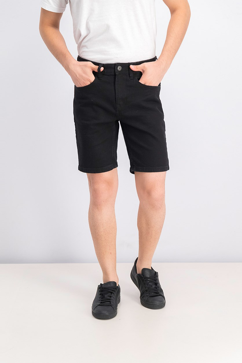 Men's Skinny Fit Short, Black